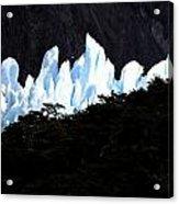 Glacier Onelli Acrylic Print by Arie Arik Chen