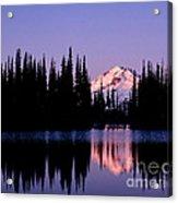 Glacier Peak Sunrise On Image Lake Acrylic Print