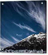 Glacier Sky Acrylic Print
