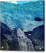 Glacier Waterfall Acrylic Print