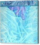Glacier2 Acrylic Print
