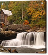 Glade Creek Grist Mill 10 Acrylic Print