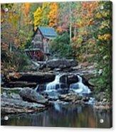 Glade Creek Grist Mill Acrylic Print