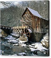 Glade Creek Grist Mill In West Virginia Acrylic Print