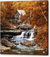 Glade Creek Mill Selective Focus Acrylic Print