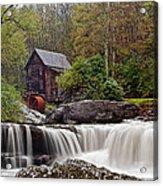 Glade Creek Waterfall Acrylic Print