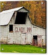 Glady Inn Barn Wv Acrylic Print
