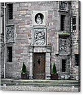 Glamis Castle. Doorway Acrylic Print