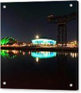 Glasgow Clyde Reflections Acrylic Print