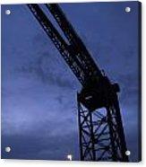 Glasgow Dock Crane 02 Acrylic Print