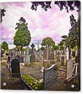 Glasnevin Cemetery Acrylic Print