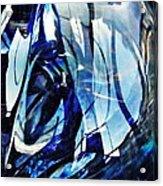 Glass Abstract 140 Acrylic Print
