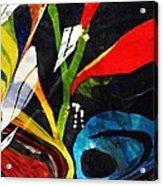 Glass Abstract 297 Acrylic Print