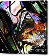 Glass Abstract 314 Acrylic Print