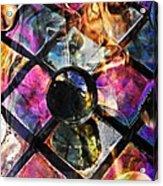 Glass Abstract 393 Acrylic Print