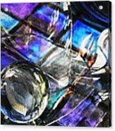 Glass Abstract 396 Acrylic Print