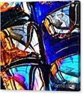 Glass Abstract 4 Acrylic Print