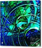 Glass Abstract 477 Acrylic Print