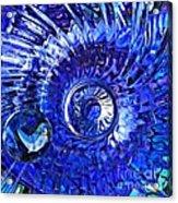 Glass Abstract 479 Acrylic Print