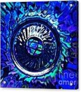 Glass Abstract 481 Acrylic Print
