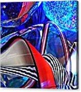 Glass Abstract 503 Acrylic Print