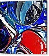 Glass Abstract 507 Acrylic Print