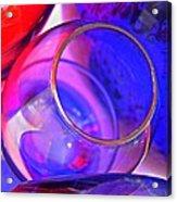 Glass Abstract 594 Acrylic Print