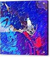 Glass Abstract 597 Acrylic Print