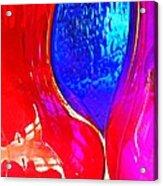 Glass Abstract 606 Acrylic Print
