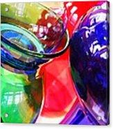 Glass Abstract 618 Acrylic Print