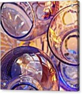 Glass Abstract 620 Acrylic Print