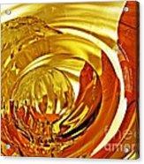 Glass Abstract 642 Acrylic Print