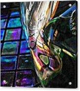 Glass Abstract 770 Acrylic Print