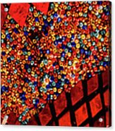 Glass And Beads Acrylic Print