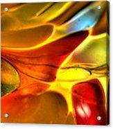 Glass And Light Acrylic Print