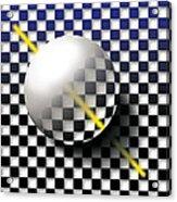 Glass Ball  Acrylic Print