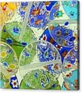 Glass Beads Abstract Acrylic Print
