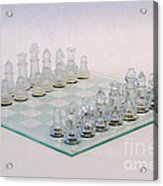 Glass Chess Acrylic Print