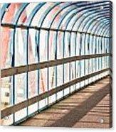 Glass Covered Walkway Acrylic Print