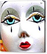 Glass Eyes Acrylic Print