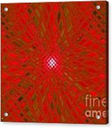 Glass Fantasia Catus 1 No 9 H Acrylic Print