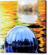 Glass Floats Acrylic Print