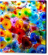 Glass Flowers Acrylic Print