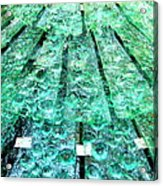 Glass Fountain Acrylic Print