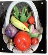 Glass Fruit Bowl Acrylic Print