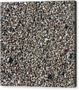 Glass In The Gravel Acrylic Print
