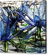 Glass Lilies Acrylic Print
