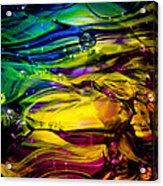 Glass Macro Abstract Rcy1 Acrylic Print
