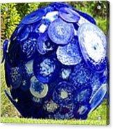Glass Planet Acrylic Print
