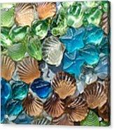 Glass Seashell Acrylic Print